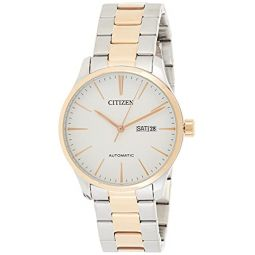 Citizen Mechanical Automatic Ivory Dial Mens Watch NH8356-87A