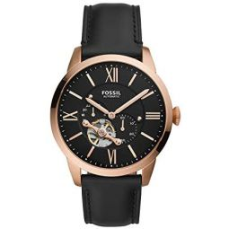 Fossil Mens Townsman Automatic Stainless Steel Mechanical Watch