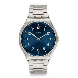 Swatch Skin Suit Blue Quartz Blue Dial Mens Watch SS07S106G