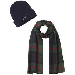 Tommy Hilfiger mens Beanie and Scarf Sets