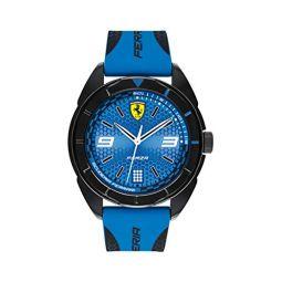 Ferrari Mens 0830518 Forza Analog Display Quartz Blue Watch