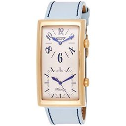Tissot Mens T56.5.633.39 Heritage Ivory Dial Leather Strap Watch