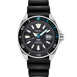 Seiko Prospex Special Edition SRPG21 Black Silicone Automatic Divers Watch