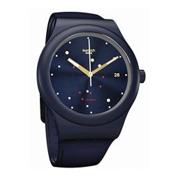 Swatch Originals Automatic Movement Blue Dial Unisex Watch SUTN403