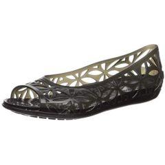 Crocs Womens Isabella Jelly Ii Flat Sandal Ballet