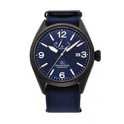 Orient Star Blue Dial Blue Nylon Mens Watch RE-AU0207L00B
