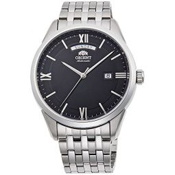 Orient Contemporary Automatic Black Dial Mens Watch RA-AX0003B0HB