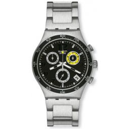 Swatch YCS515GWristwatch Mens, Stainless Steel Silver Strap