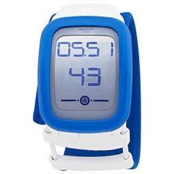 Swatch Skyzero S Quartz Digital Unisex Watch SUVW102B