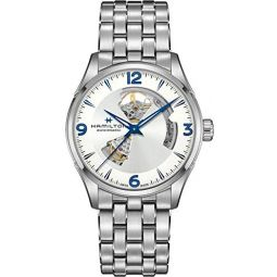 Hamilton Jazzmaster Automatic Silver Dial Mens Watch H32705152