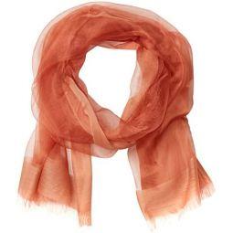 Emporio Armani womens Wool-silk Blend Scarf