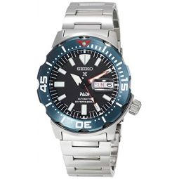 [Seiko Watch] Watch Prospex PROSPEX 200m Waterproof Mechanical Divers Watch Automatic Winding (with Manual Winding) PADI Collaboration Model SBDY057 Mens Silver