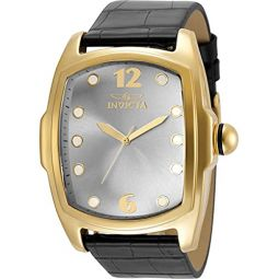 Invicta Lupah Silver-Tone Dial Mens Watch 35374