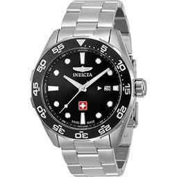 Invicta Pro Diver Black Dial Mens Watch 33453