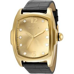 Invicta Lupah Gold-Tone Dial Mens Watch 35375