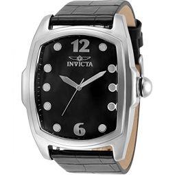 Invicta Lupah Black Dial Mens Watch 35371