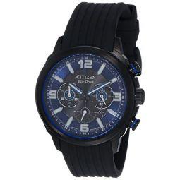 Citizen Mens CA4385-12E Black Rubber Japanese Quartz Dress Watch