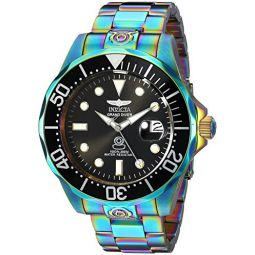 Invicta Mens Pro Diver Automatic-self-Wind Diving Watch with Stainless-Steel Strap, Multi, 20 (Model: 26601)