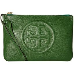 Tory Burch Womens Perry Bombe Wristlet
