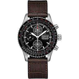 Hamilton Aviation Chronograph Automatic Black Dial Mens Watch H76726530