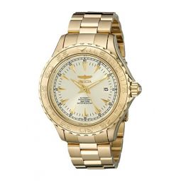 Invicta Mens 2306 Pro-Diver Collection 23k Gold-Plated Dive Watch