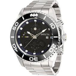 Invicta DC Comics Batman Chronograph Quartz Black Dial Mens Watch 34625