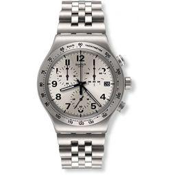 Swatch Irony Quartz Movement Silver Dial Unisex Watch YVS425G