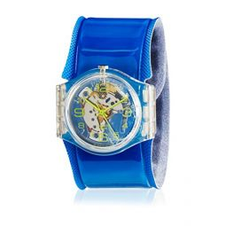 Swatch Quartz Watch Analogue Display and Plastic Strap GK348D