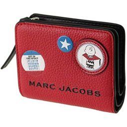 Marc Jacobs Womens Snapshot Mini Compact Wallet