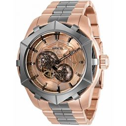 Invicta Bolt Automatic Rose Gold Dial Mens Watch 34709