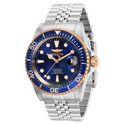 Invicta Mens Pro Diver Automatic Watch with Stainless Steel Strap, Silver, 22 (Model: 32503)