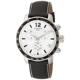 Tissot Mens T0954171603700 Quickster Analog Display Swiss Quartz Black Watch