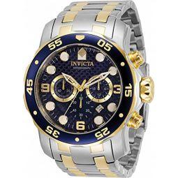 Invicta Pro Diver Chronograph Quartz Blue Dial Mens Watch 35135