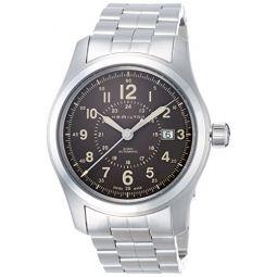 Hamilton Khaki Field Automatic Brown Dial Mens Watch H70605193