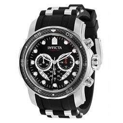 Invicta Pro Diver Chronograph Quartz Black Dial Mens Watch 35414