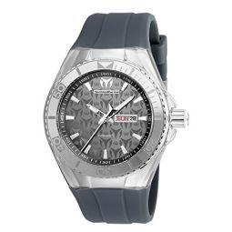 Technomarine Mens TM-115062 Cruise Monogram Analog Display Quartz Grey Watch