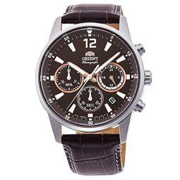 Orient Chronograph Quartz Brown Dial Mens Watch RA-KV0006Y10B