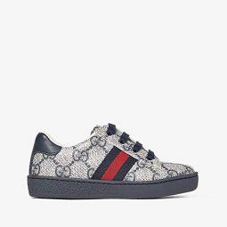GG Supreme Low-Top Sneaker (Toddler)