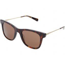 COACH HC8290 50 mm Square Sunglasses