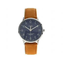 40 mm Waterbury Classic Leather Strap Watch