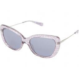 COACH HC8291 54 mm Rectangular Sunglasses