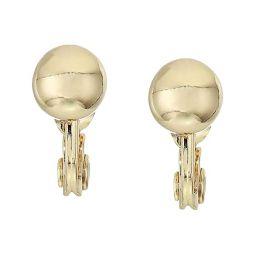 LAUREN Ralph Lauren 8 mm Clip Ball Button Earrings