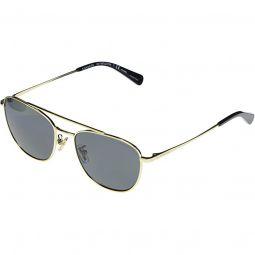 HC7107 L1110 Rectangle Metal Sunglasses