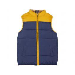 Reversible Plaid Puffer Vest (Toddler/Little Kids/Big Kids)
