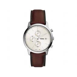 Minimalist Chrono Chronograph Leather Watch - FS5849
