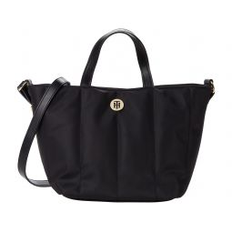 Tommy Hilfiger Noreen II-Convertible Shopper-Smooth Nylon