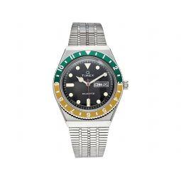 38 mm Q Timex Reissue Stainless Steel Bracelet Watch