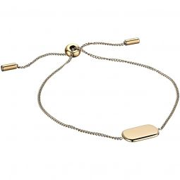 Gold Tone Stainless Steel Chain Bracelet