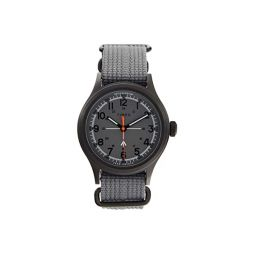 Timex 40 mm Timex x Todd Snyder Military Inspired Black Case Fabric Strap Watch