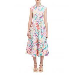 Kate Spade New York Painted Petals Shirtdress
